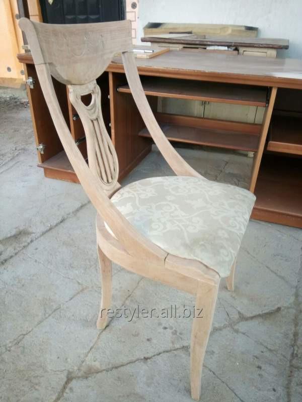 Реставрация декоративного стула