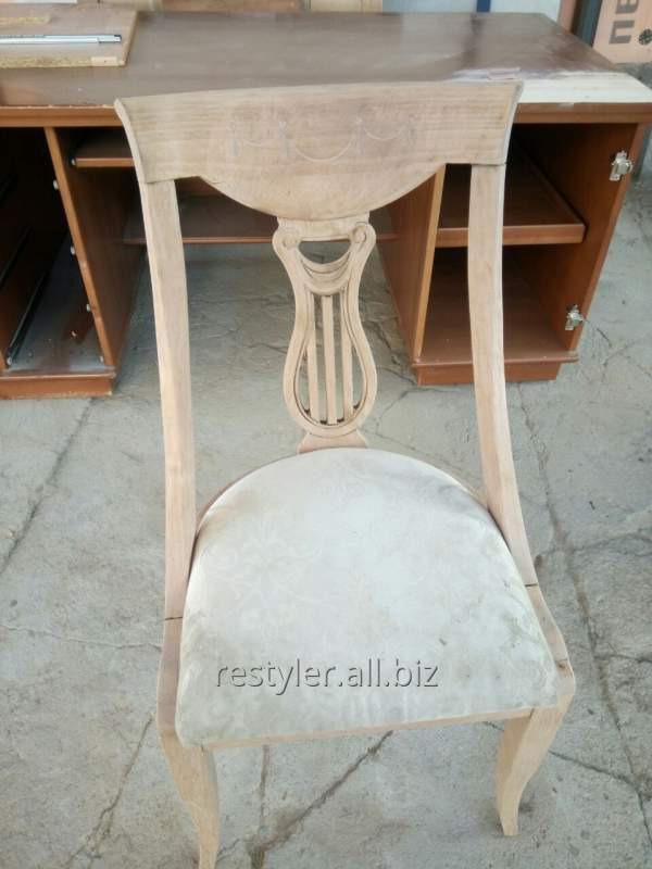 Реставрация деревянного декоративного стула
