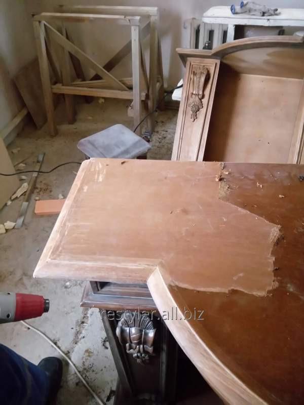 Реставрация декоративных деревянных поверхностей