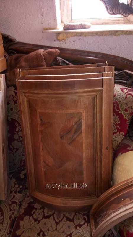 Реставрация деревянных мебельных дверей