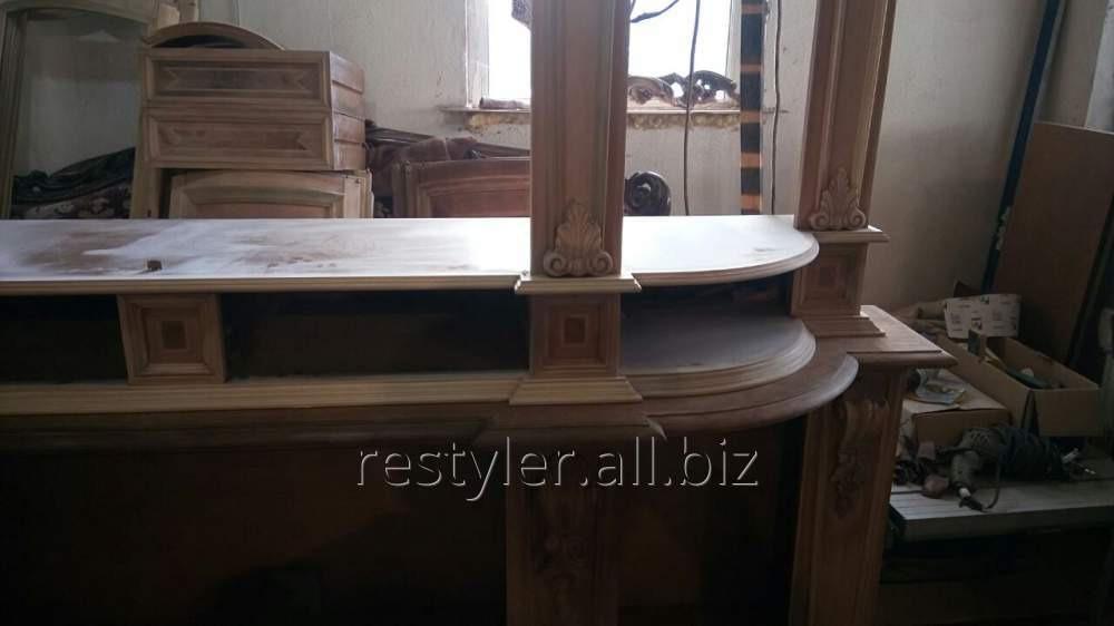 Реставрация элементов деревянной мебели