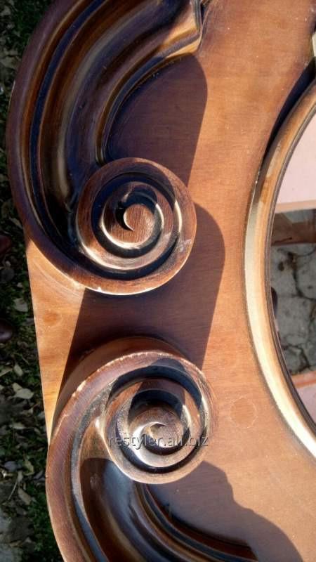 Реставрация элементов эксклюзивной антикварной мебели