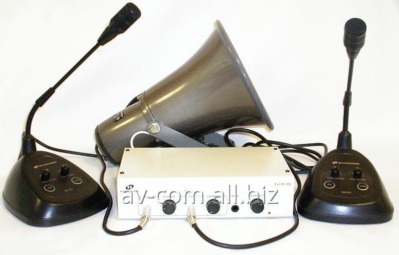 Заказать Монтаж систем громкоговорящей связи и оповещения
