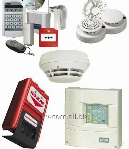 Заказать Монтаж систем охранно-пожарной сигнализации