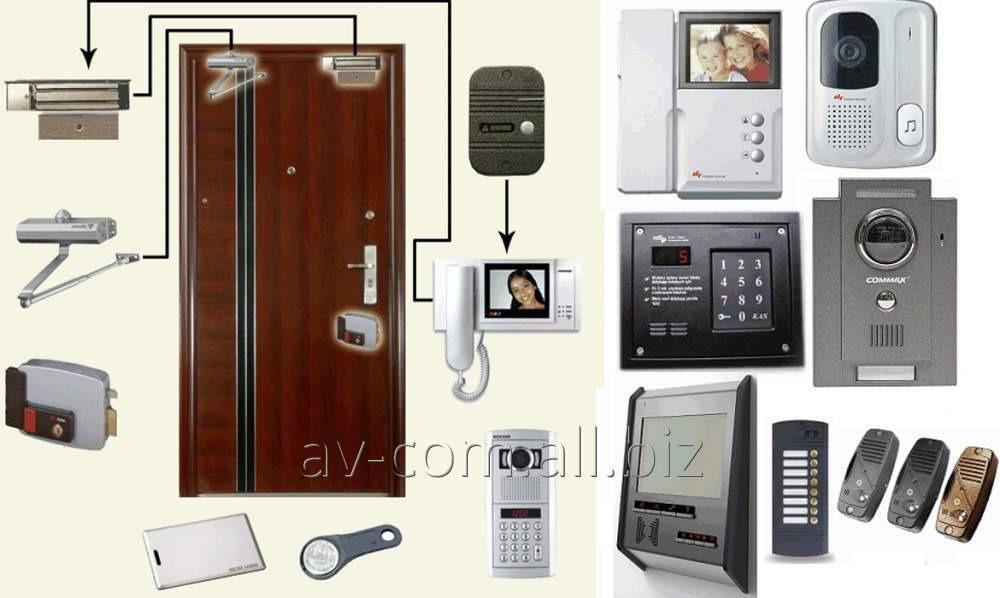 Заказать Установка домофонных систем