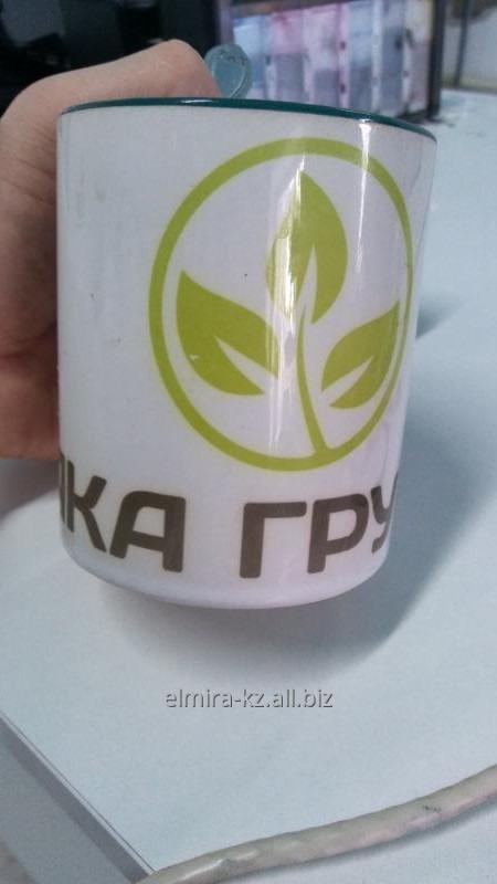 Заказать Нанесение логотипа на чашку