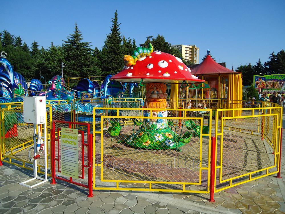 Ограждения детской площадки