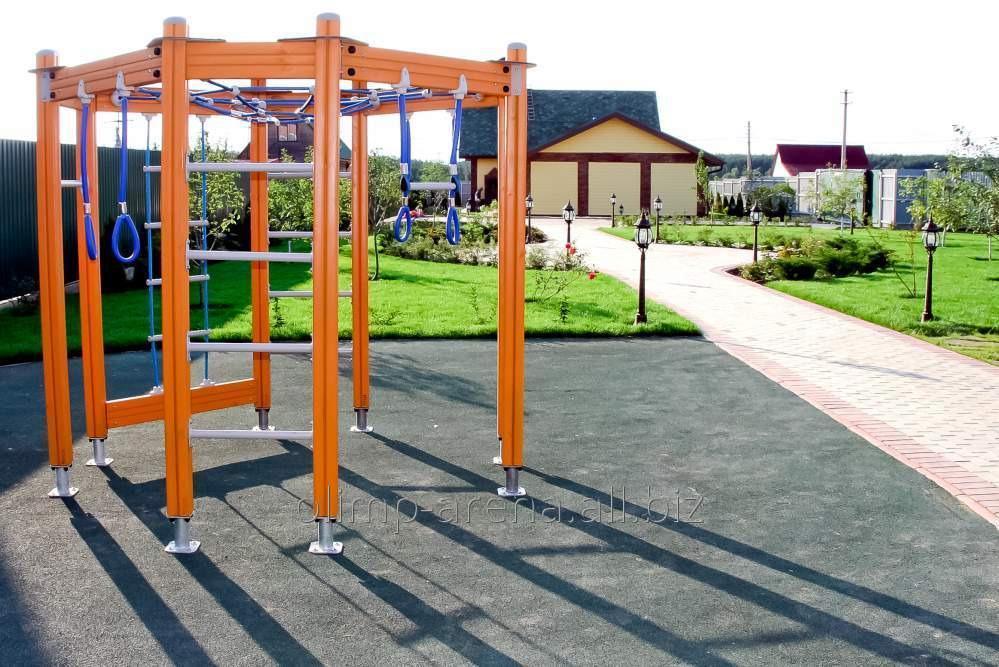 Устройство детской спортивной площадки