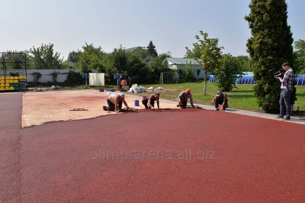 Обслуживание спорткомплекса и спортивной площадки