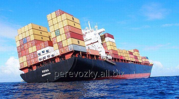 Заказать Перевозки грузов контейнеровозом