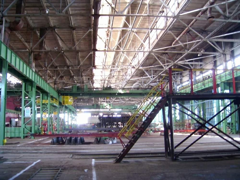 Заказать Производство каркасов промышленных зданий
