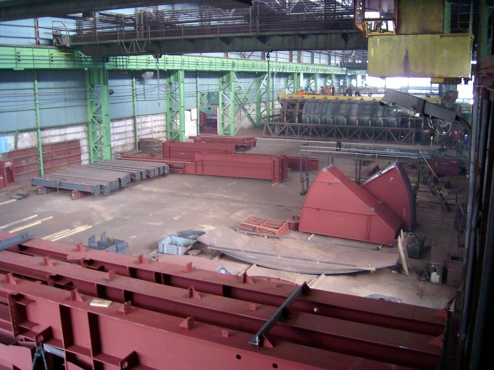 Заказать Производство металлических каркасов для складов
