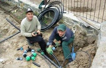 Заказать Монтаж трубопроводов автоматического полива