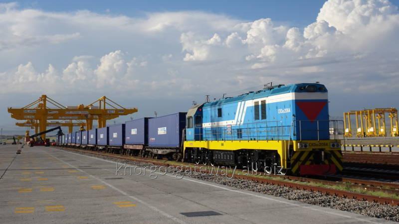 Заказать Прием/отправка поездов на Сухом порте Khorgos Gateway