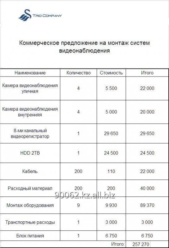 Заказать Монтаж систем видеонаблюдения и СКУД