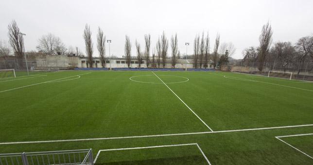 Заказать Строительство современного футбольного поля