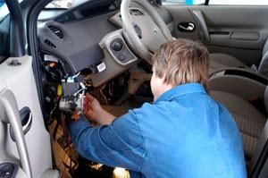 Заказать Установка автосигнализации с автозаводом