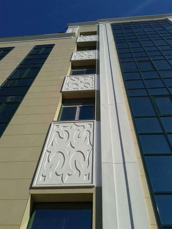 Заказать Фасад из стеклопластика (FRP)