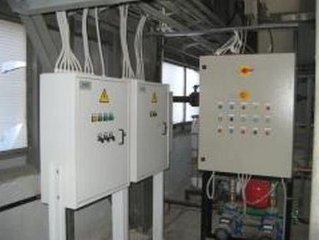Электромонтаж конструкции внешних инженерных сетей