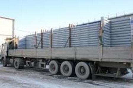 Доставка металлоконструкции на строительную площадку