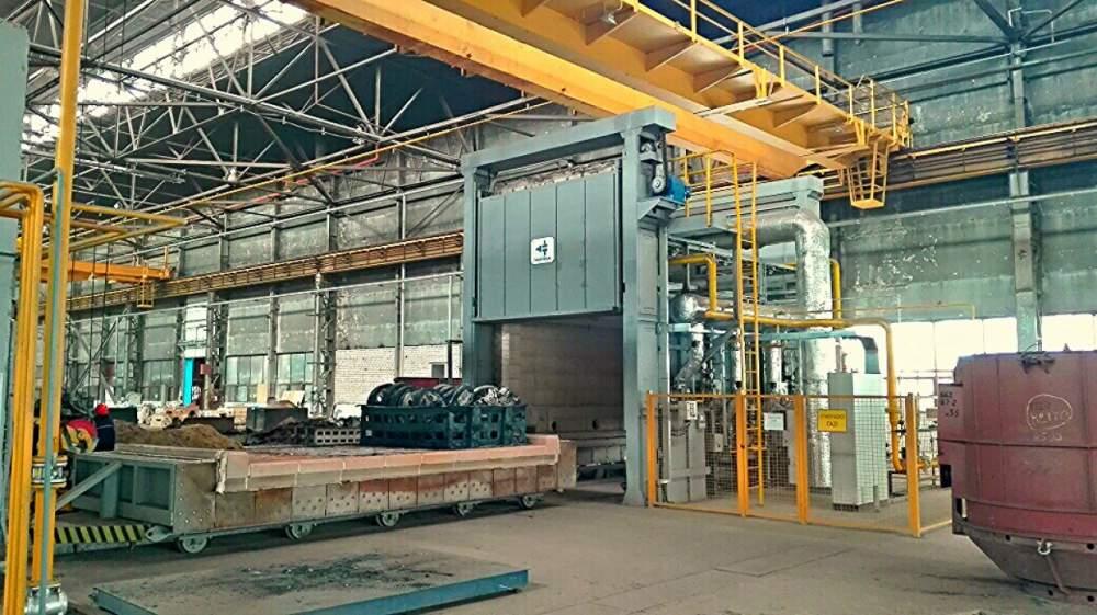 Монтаж строительной металлоконструкции