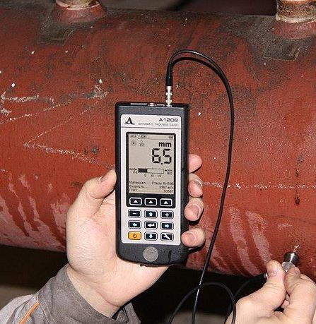 Заказать Измерение толщины стенок металлоизделия