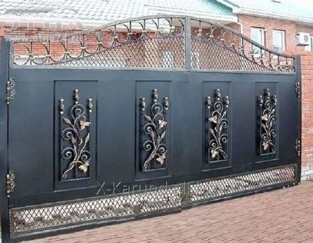 Заказать Откатные кованые ворота