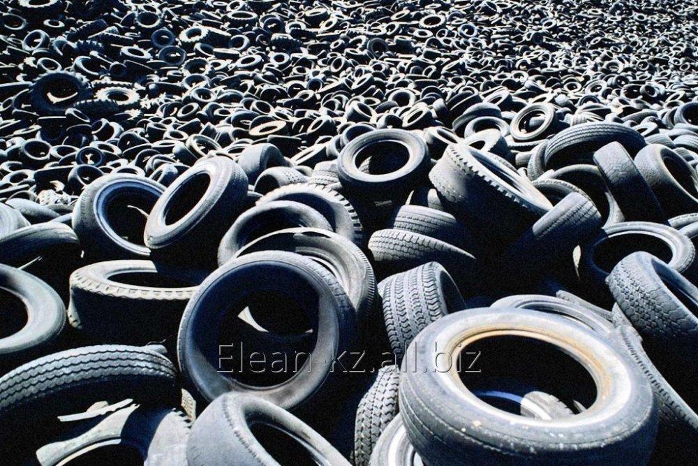 Заказать Утилизация автотранспортных шин