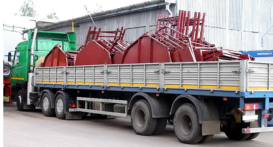 Доставка металлоконструкций на стройплощадку