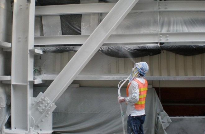 Работы по защите металлоконструкции в судостроении