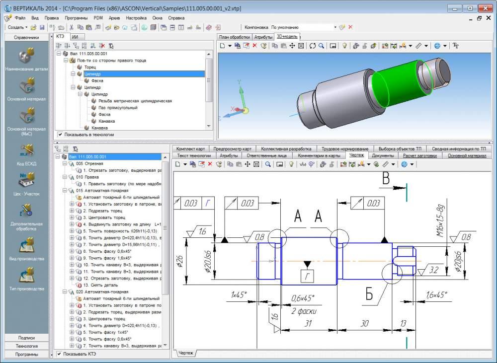 Проектирование технологического процесса