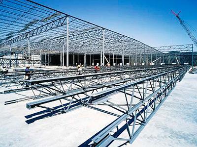 Заказать Монтаж металлоконструкций строительных