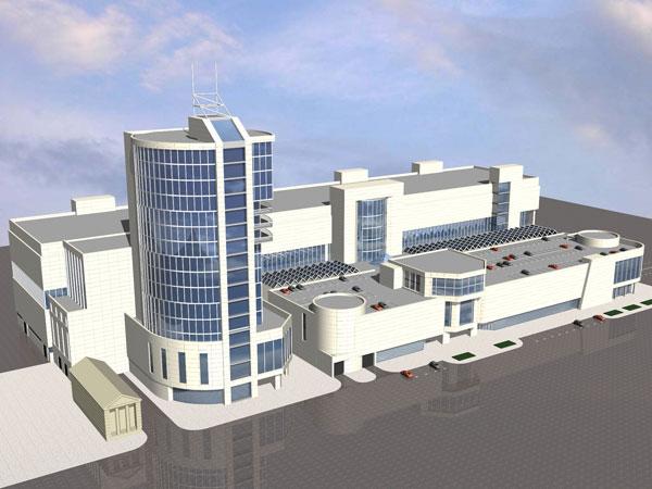 Проектирование бизнес центра