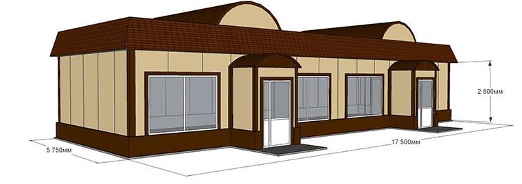 Проектирование магазина и здания торгового назначения