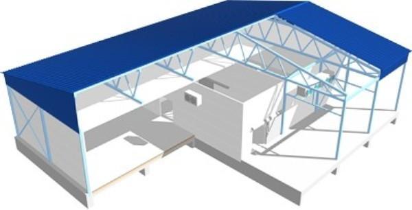 Проектирование быстровозводимого здания