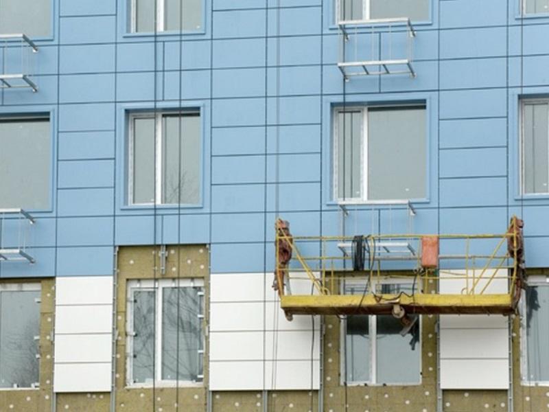 Заказать Установка тепло- и гидроизоляции на фасаде здания