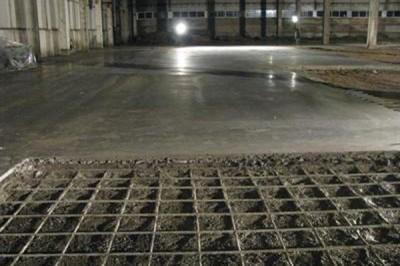 Заказать Изготовление бетонных полов