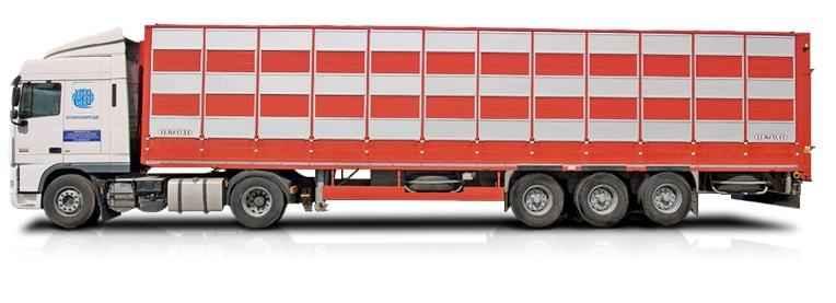 Заказать Перевозка скотовозом