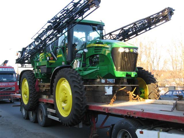 Заказать Перевозка техники сельскохозяйственной