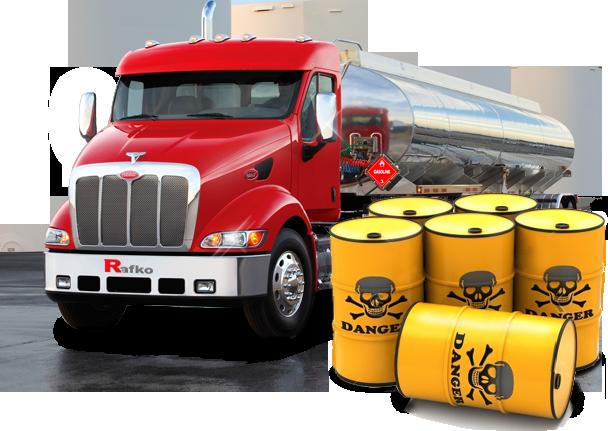 Заказать Перевозки грузов опасных