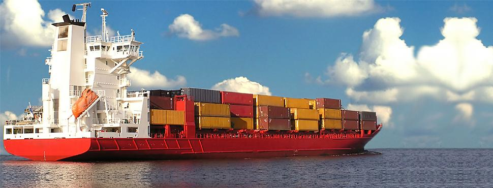 Заказать Морская перевозка груза