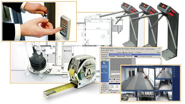 Заказать Проектирование и монтаж системы контроля доступа