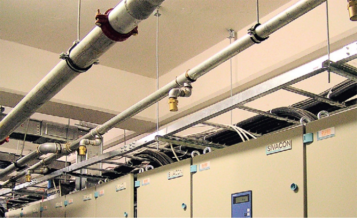 Order Installation of fire extinguishing sprinkler systems