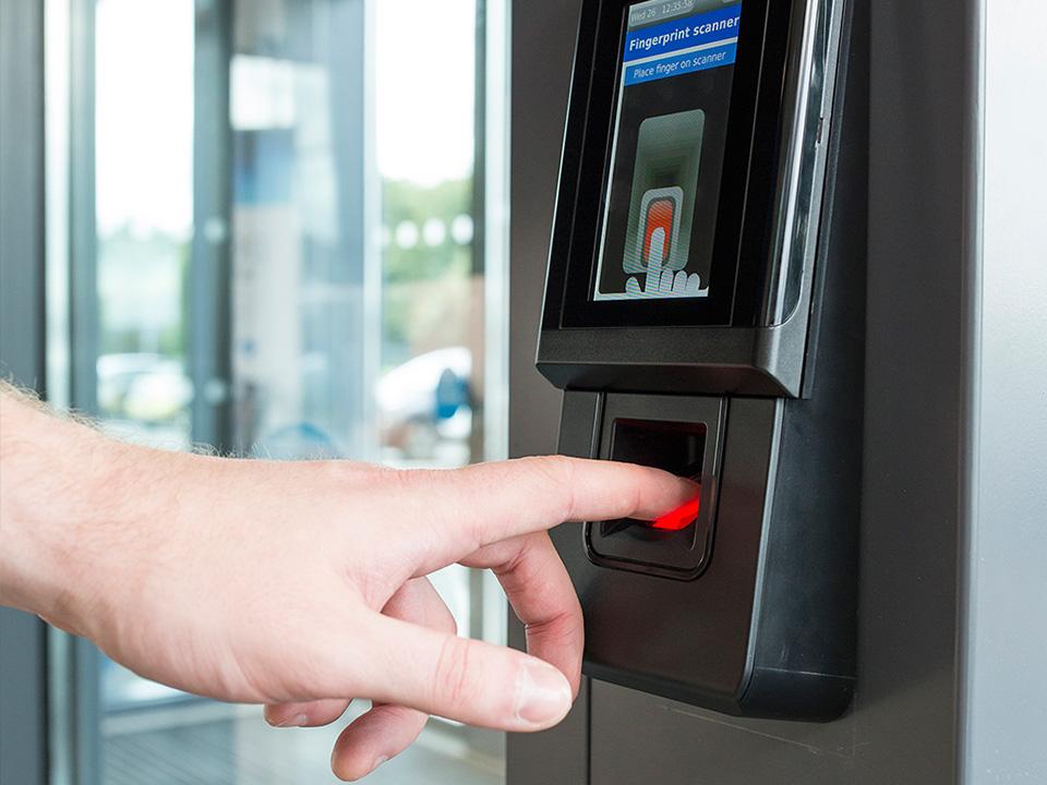 Заказать Установка систем биометрических