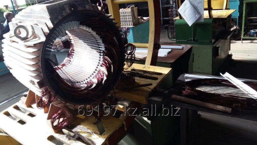 Заказать Любые виды ремонтов электродвигателей (до и свыше 100 кВт), двигателей постоянного и переменного тока, трансформаторов, генераторов