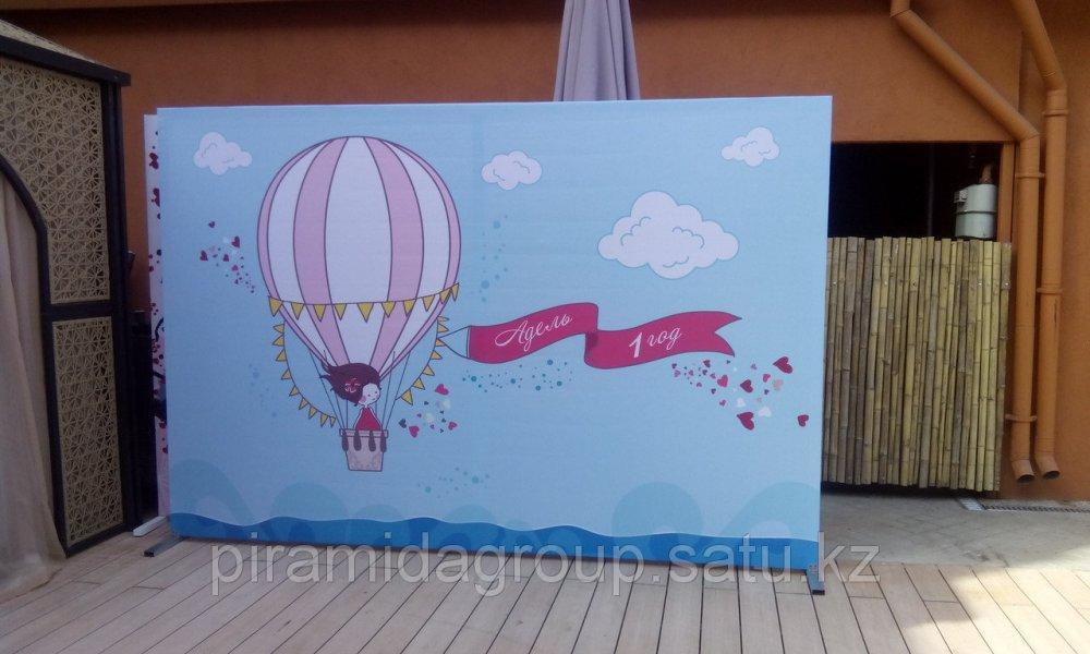 Аренда Пресс стены в Алматы полный комплект 2*3 м банер конструкция дизайн монтаж, арт. 5039469