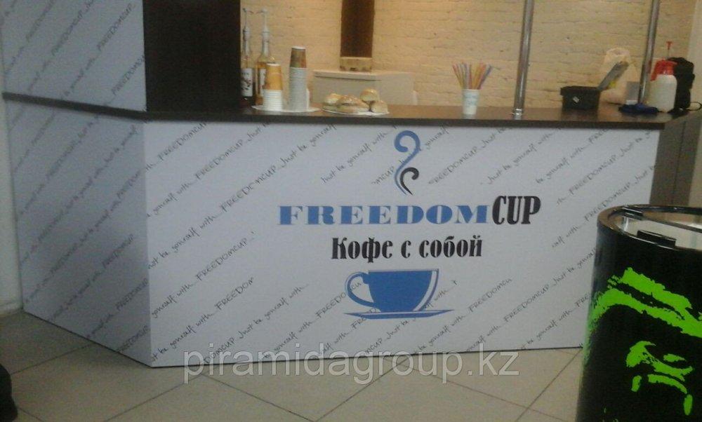 Брендирование барной стойки в Алматы, арт. 42643297