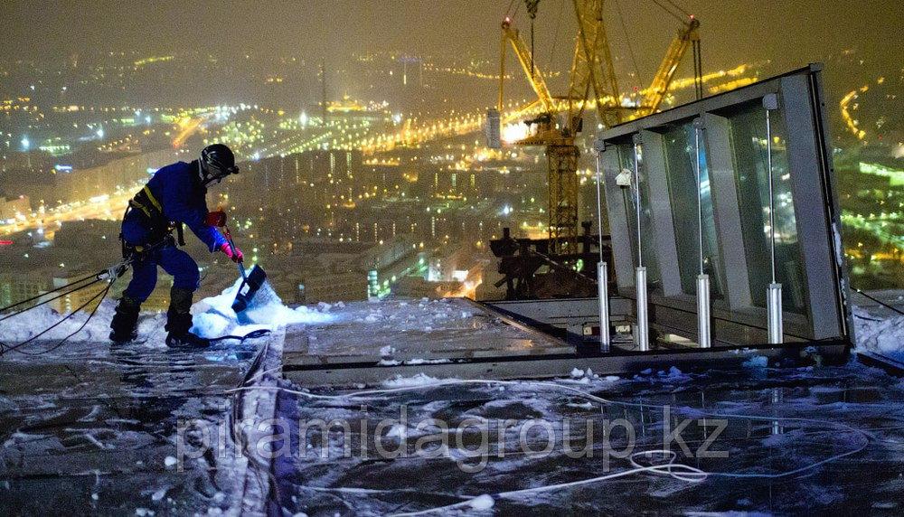 Мытье окон фасадов зданий альпинисты в Алматы, арт. 20089713