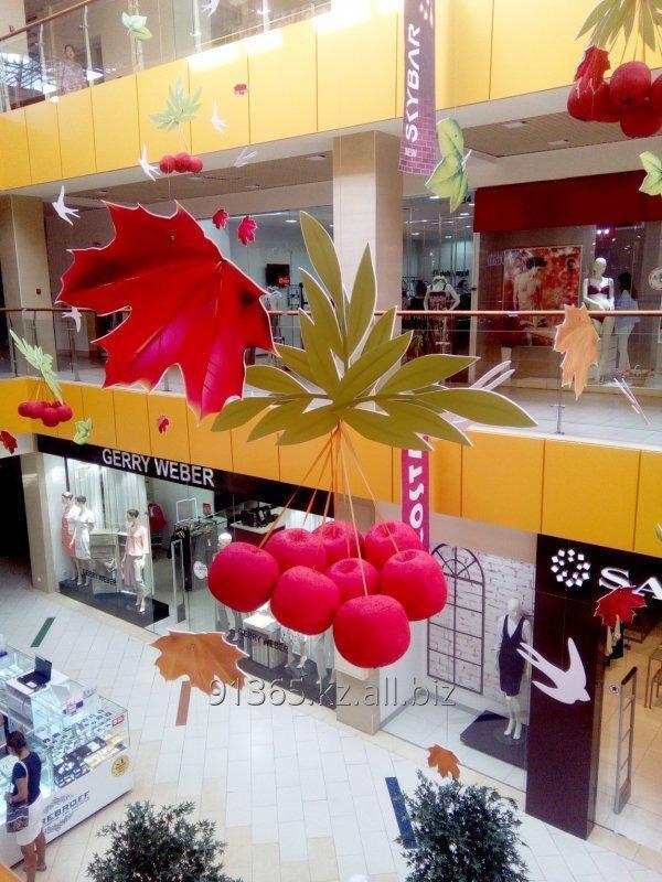 Заказать Декор торговых центров