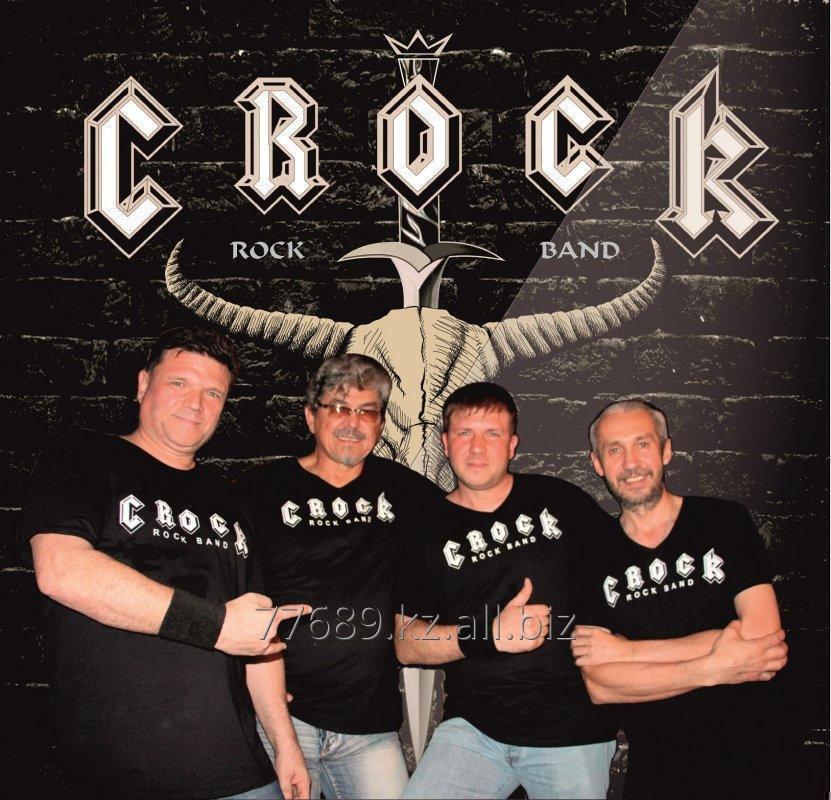Заказать Живая музыка в стиле 70х - 90х годов, рок группа CROCK